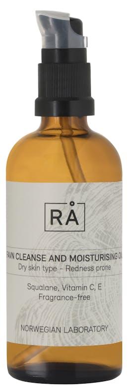 RÅ SKINCARE FAVN CLEANSE AND MOISTURISING OIL 100 ML